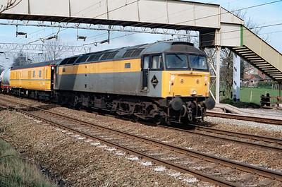 47 340 at Acton Bridge on 11th April 1994