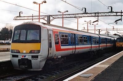 321 414 at Northampton on 2nd April 1994