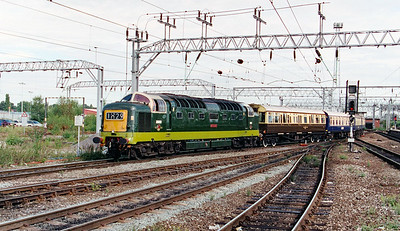 D9009 at Crewe on 6th August 1999