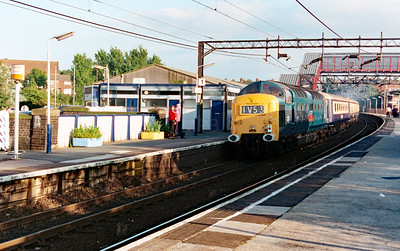 55 019 at Runcorn on 30th August 1999