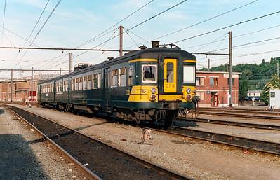 239 at Schaarbeek Depot on 15th June 1996