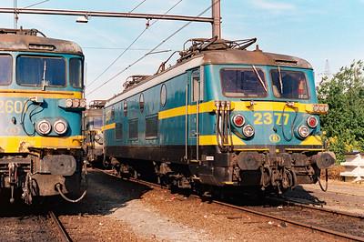 2377 at Schaarbeek Depot on 15th June 1996