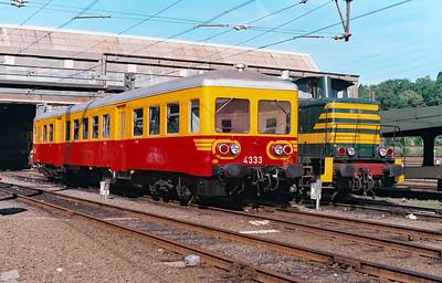 4333 at Schaarbeek Depot on 15th June 1996