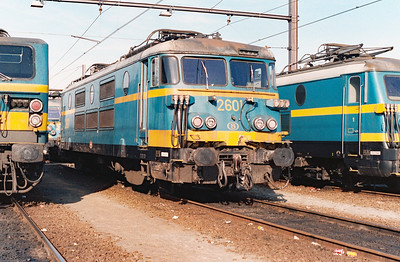 2601 at Schaarbeek Depot on 15th June 1996