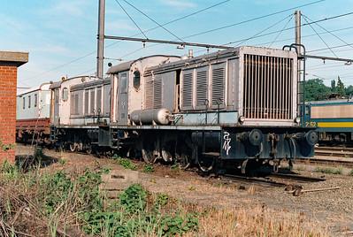 CCB 216 at Schaarbeek Depot on 15th June 1996