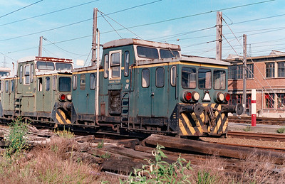 38025 714-60 at Schaarbeek Depot on 15th June 1996