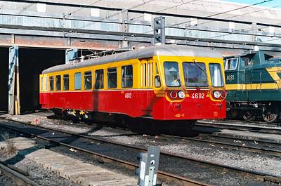 4602 at Schaarbeek Depot on 15th June 1996