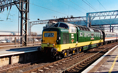 D9000 at Manchester Piccadilly on 8th March 1997