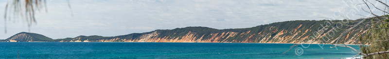 Rainbow Beach - panorama
