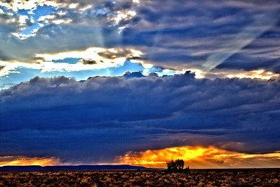Colorado Western Slope Sunset