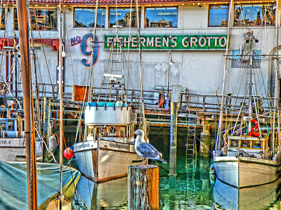 Fishermen's Grotto at Fisherman's Wharf - San Francisco, California