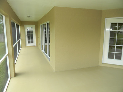 Enjoy The Resurfaced Screened Lanai With French Doors From Bedroom And Living Room And A Triple Slider!!