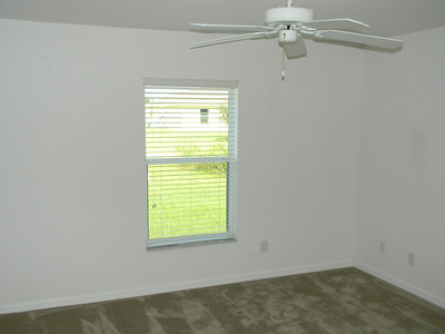 The Master Bedroom Has New Carpeting And A Large Walk-In Closet!