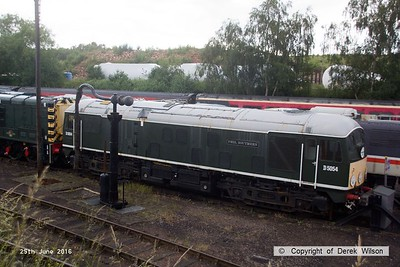 160625-013     BR type 2 no D5054 Phil Southern  at Barrow Hill. this became class 24 no 24054