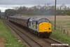 170319-029  Ex BR class 37 No 37714 Cardiff Canton passing Woodthorpe with the 11:15 Loughborough - Leicester North.
