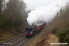 170128-017  BR Britannia 4-6-2 No 70013 Oliver Cromwell passes Charnwood with the TPO set (Travelling Post Office).