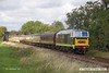 170909-037  Guest loco, Hymek No D7017 passing Woodthorpe with the 14:15 Loughborough - Leicester North.