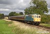 170909-031  D6535 top & tail with D5185 passing Woodthorpe with the 13:10 Loughborough - Quorn.