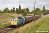 170909-004  Birmingham RCW type 3 No D6535 (Class 33 No 33116) passing Woodthorpe with the 10:00 Loughborough - Quorn.