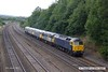170824-028  Rail Operations Group class 47 No 47812 is captured passing Hasland on a test run, top & tail with 47848 & with three class 56's sandwiched in between, No's 56301, 56081 & 56104. Seen reurning to Leicester as 0M59, 12:45 Barrow Hill L.I.P. - Leicester L.I.P.