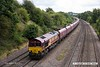 170824-036  DB Cargo class 66/0 No 66037 is seen passing Hasland, powering train 4E78, 14;00 Ratcliffe Power Station - Milford West Sidings, empty coal hoppers.
