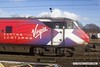 170207-033  Virgin East Coast DVT No 82205 with  misleading Flying Scotsman branding. Flying Scotsman is the world famous LNER A3 pacific No 4472 (60103 in BR days), the train this is referring to, which officially ran for the first time in 1924 is 'The Flying Scotsman'.
