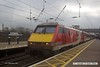 170207-004  Virgin East Coast class 91 No 91106 pulls into Newark North Gate with 1S10, the 09:30 London King's Cross - Edinburgh.