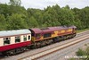 170614-015  DB Cargo class 66/0 No 66074 is seen nearing Boughton Junction, leading UK Railtours 'The Great Central Lament', train 1Z56, the 07:49 Finsbury Park - High Marnham.