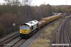 171129-006  Freightliner class 66/6 No 66620 passing Clay Cross with 6E88, 09:45 Mountsorrel - Tyne S.S.