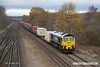 171129-018  Freightliner class 66/5 No 66516 is captured passing Tupton with Intermodal 4O95, 12:13 Leeds F.L.T. - Southampton M.C.T..