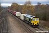 171129-020  Freightliner class 66/5 No 66516 is captured passing Tupton with Intermodal 4O95, 12:13 Leeds F.L.T. - Southampton M.C.T..