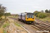171026-014  Northern class 142 Pacer unit No 142084 passes Clarborough Junction with 2P80, the 09:44 Sheffield - Lincoln.