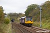 171026-001  Northern class 142 Pacer unit No 142063 passes Clarborough with 2P59, the 08:44 Sheffield - Lincoln.