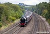170915-008  LNER A3 4-6-2 No 60103 Flying Scotsman speeds past Hasland with 1Z60, 08:43 London Victoria - York.