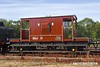 180811-015  BR 20 ton four wheel brake van No. B954268. Seen at Swithland on the Great Central Railway.