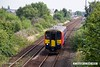 180806-001  East Midlands Trains class 153 unit No. 153372 is seen passing Tenter Lane, Mansfield, with 2D05, the 09:37 Mansfield Woodhouse - Nottingham.