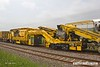 180601-020  Plasser & Theurer VM80/NR Vacuum Ballast Extraction Machine. No. DR76701, seen in the consist of 6Y38, 03:59 Fairwater yard, Taunton - Thoresby Colliery Junction.