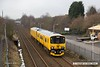 180305-003  Network Rail's unique class 950 unit No. 950001 is captured passing Tenter Lane Mansfield, running as 2Q08, 09:42 Derby RTC - Derby RTC.
