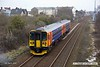 180305-002  East Midlands Trains class 153 unit's No's 153311 & 153374 are seen passing Tenter Lane Mansfield, forming 2H09, the 10:55 Nottingham - Mansfield Woodhouse. The snow at the trackside is all that's left of what was deposited last week by 'The Beast from the East' & 'Storm Emma'.