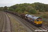 181012-011  GB Railfreight class 66/7 No. 66728 Institution of Railway Operators, captured passing Clay Cross with 6M23, 13:47 Doncaster, Hexthorpe Yard - Wellingborough up T.C..