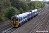 180924-007  Northern class 158 unit No. 158907 passing Hasland with 1Y16, the 12:17 Nottingham - Leeds.