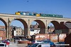 190703-011  Direct Rail Services class 37/4 No. 37402 Stephen Middlemore 23.12.1954 - 8.6.2013 with  observation saloon 975025 Caroline, is captured crossing the 15 arch viaduct at Mansfield with 2Z02, 08:35 Derby - Derby.