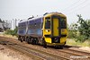 1090629-003  Ex Scotrail class 158 unit No. 158789 is seen passing Rushey Sidings, Retford, with 1L49, the 10:38 Leeds - Lincoln.