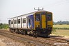 190629-011  Northern class 150 unit No. 150211 passing Rushey Sidings with 1L53, the 11:38 Leeds -Lincoln.