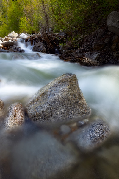 Rock in Little Cottonwood Canyon