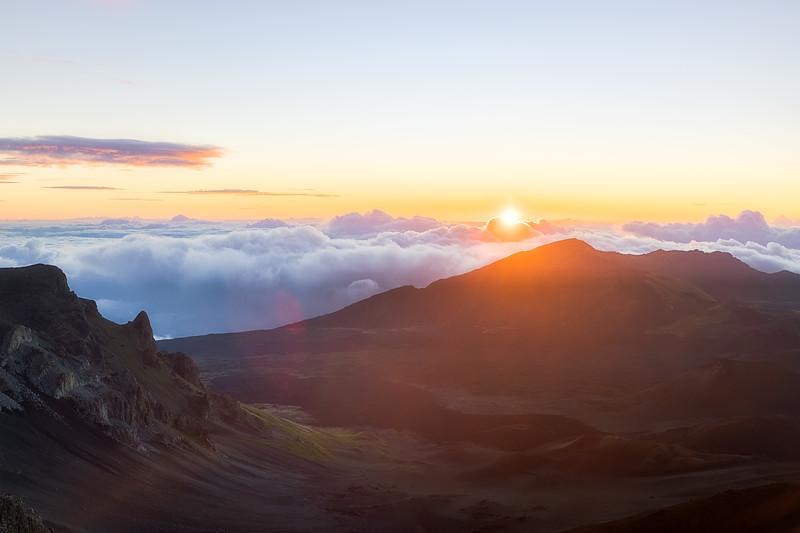 Sunrise over Haleakala
