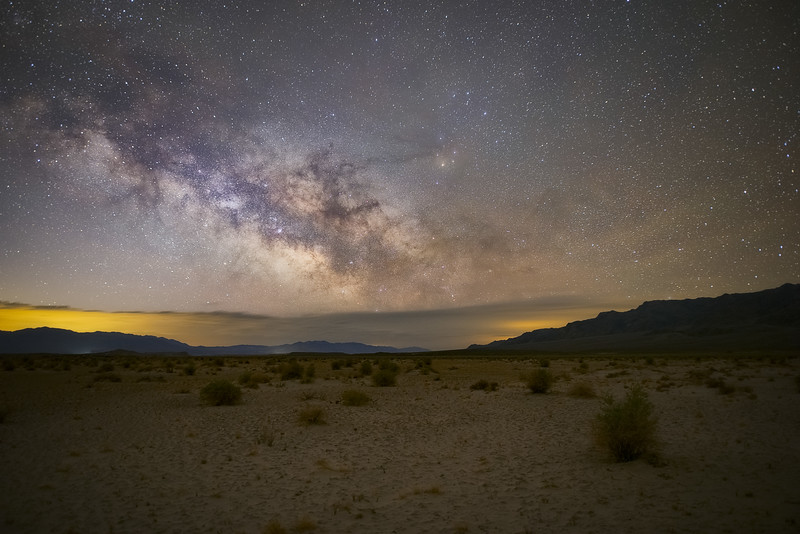 Milky Way Over Death Valley