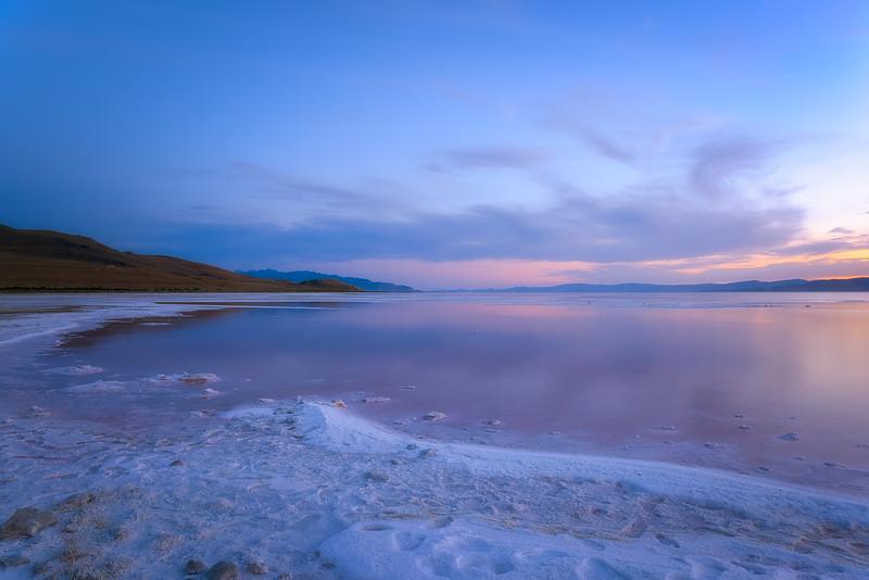 June 22 Sunset at Great Salt Lake