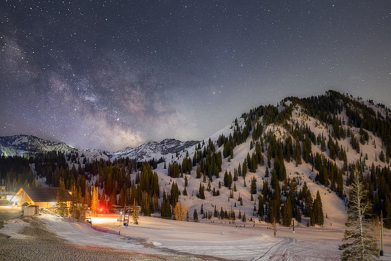 Milky Way at Alta