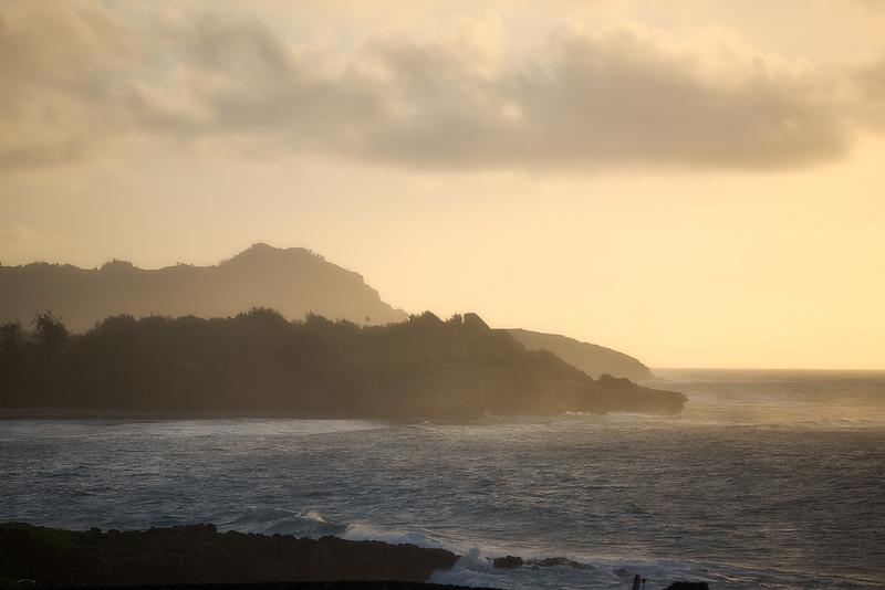 Rocks Near Shipwreck Beach